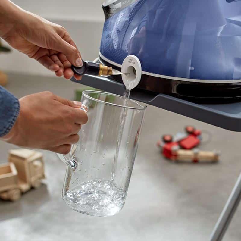 eau déminéralisée