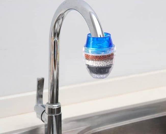 filtre à eau robinet